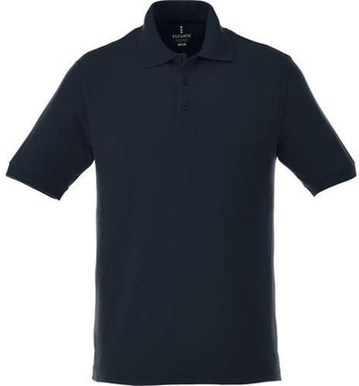 Elevate-BELMONT Short Sleeve Polo-S-Navy-Thread Logic