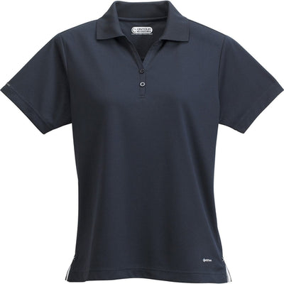Elevate-Ladies MORENO Short Sleeve Polo-XS-Navy-Thread Logic