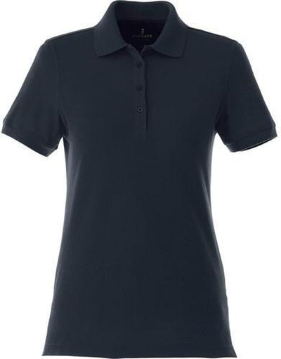 Elevate-Ladies BELMONT Short Sleeve Polo-XS-Navy-Thread Logic