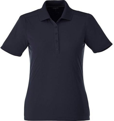 Elevate-Ladies DADE Short Sleeve Polo-S-Navy-Thread Logic
