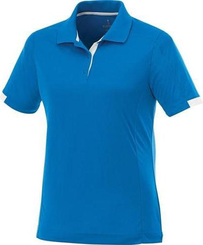 Elevate-Ladies KISO Short Sleeve Polo-S-Olympic Blue/White-Thread Logic