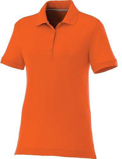 Elevate-Ladies CRANDALL Short Sleeve Polo-S-Orange-Thread Logic