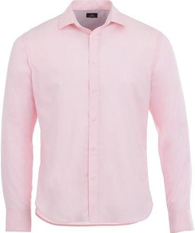 Elevate-THRUSTON Long Sleeve Dress Shirt-S-Pink Zircon-Thread Logic