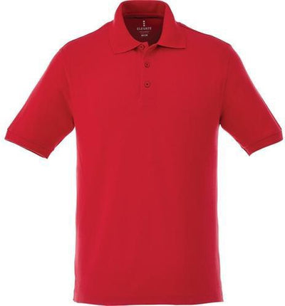 Elevate-BELMONT Short Sleeve Polo-S-Team Red-Thread Logic