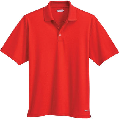 Elevate-MORENO Short Sleeve Polo-S-Red-Thread Logic