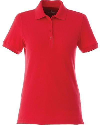 Elevate-Ladies BELMONT Short Sleeve Polo-XS-Team Red-Thread Logic