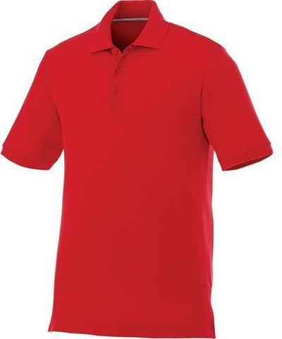 Elevate-CRANDALL Short Sleeve Polo-S-Team Red-Thread Logic