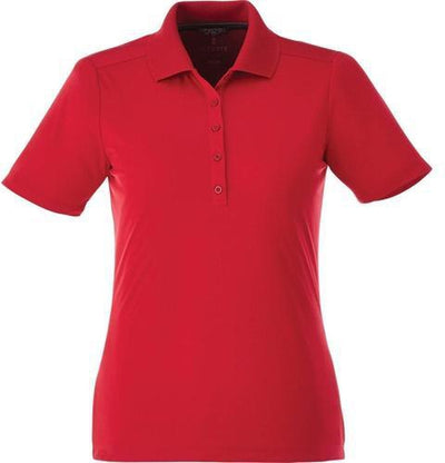 Elevate-Ladies DADE Short Sleeve Polo-S-Team Red-Thread Logic
