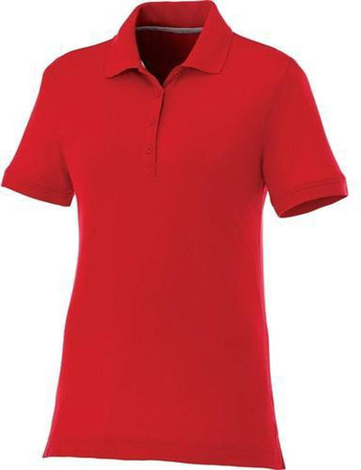 Elevate-Ladies CRANDALL Short Sleeve Polo-S-Team Red-Thread Logic