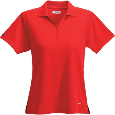 Elevate-Ladies MORENO Short Sleeve Polo-XS-Red-Thread Logic