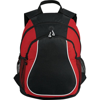 Elevate-Coil Backpack-Red-Thread Logic