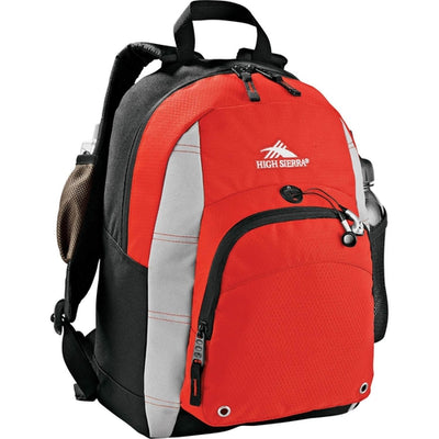 Elevate-High Sierra Impact Backpack-Red-Thread Logic