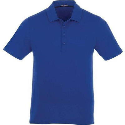 Elevate-ACADIA Short Sleeve Polo-S-New Royal-Thread Logic