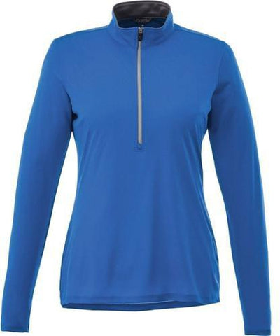 Elevate-Ladies VEGA Tech Half Zip-XS-New Royal-Thread Logic