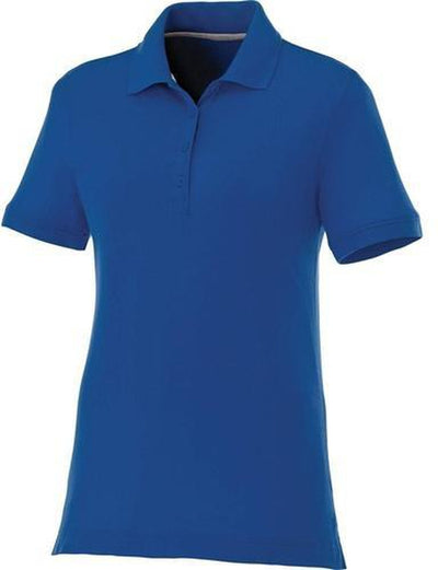 Elevate-Ladies CRANDALL Short Sleeve Polo-S-New Royal-Thread Logic