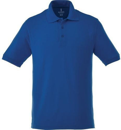 Elevate-BELMONT Short Sleeve Polo-S-New Royal-Thread Logic