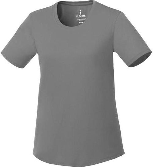 Elevate-Ladies OMI Short Sleeve Tech Tee-XS-Steel Grey-Thread Logic