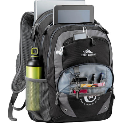 "High Sierra Overtime Fly-By 17"" Computer Backpack"