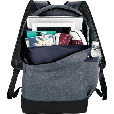 "Elevate-Graphite Slim 15"" Computer Backpack-Charcoal-Thread Logic"