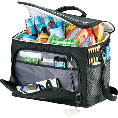 Cutter & Buck Tour 36 Can Event Cooler-Black-Thread Logic
