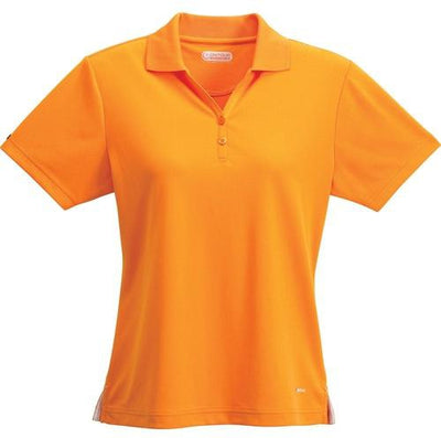 Elevate-Ladies MORENO Short Sleeve Polo-XS-Tangerine-Thread Logic