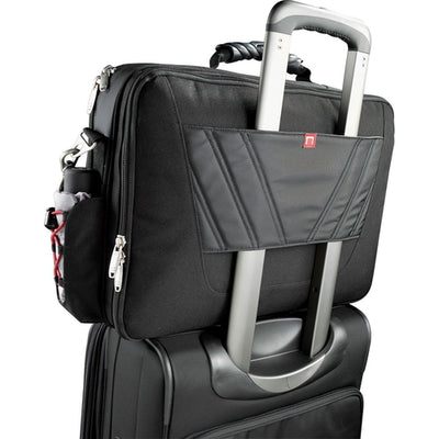 "Elleven-elleven TSA 17"" Computer Attache-Black-Thread Logic"