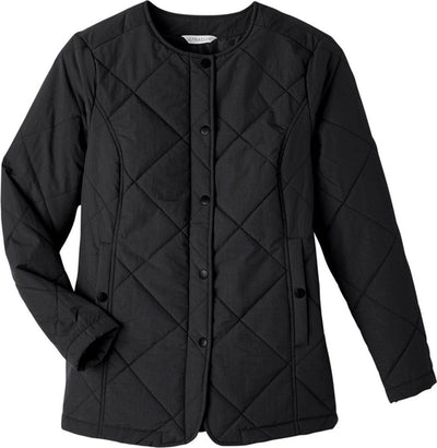 UltraClub Ladies Dawson Quilted Hacking Jacket