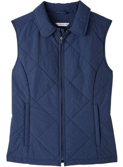 UltraClub Ladies Dawson Quilted Hacking Vest