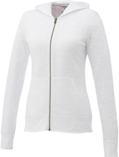 Elevate-Ladies GARNER Full Zip Hoody-XS-White-Thread Logic