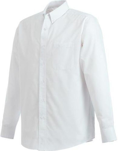 Elevate-PRESTON Long Sleeve Dress Shirt-S-White-Thread Logic