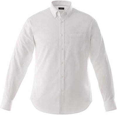 Elevate-WILSHIRE Long Sleeve Dress Shirt-S-White-Thread Logic