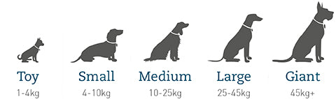 size guide for the snuggle puppy replacement heat pads