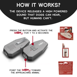 DAZER II™ Ultrasonic Dog Anti Barking Device -Made In USA