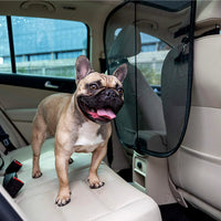 SOLVIT Sta-Put™ Mesh Pet Fence Netting Barrier for Front Seat Area