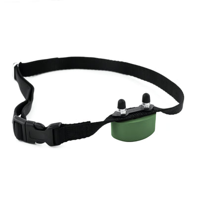 collar, receiver and contact points for the perimeter PCC-200 dog containment system