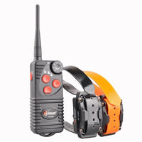 Aetertek AT-216D Remote Dog Training Collar in Orange and Black
