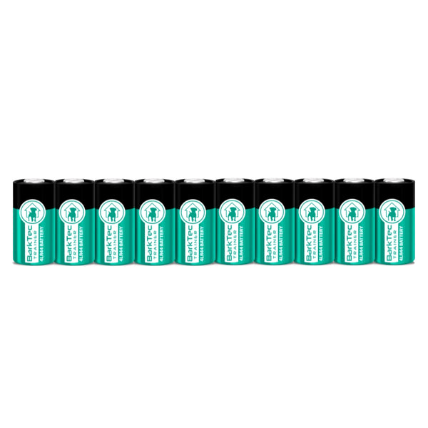 10 pack of batteries for the barktec bt-100 citronella bark collar