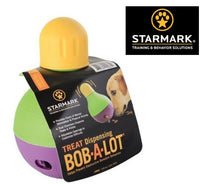 STARMARK BOB-A-LOT™ Treat Dispensing Chewing Dog Toy