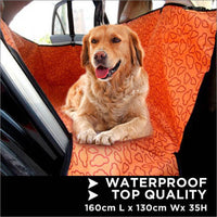 Large Dog on the Car Seat Cover™ Dog Car Seat Hammock Waterproof