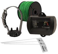 dogtra electric fence wire, collar, flags and receiver