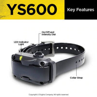 dogtra ys600 collar features