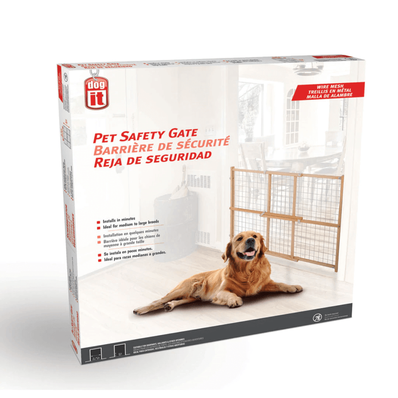 Dogit Wire Mesh Pet Safety Gate Large