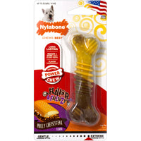 Nylabone Puppy Frenzy Power Chew Dog Toy Cheesesteak