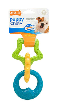 Nylabone Puppy Teething Rings Dog Chew Toy