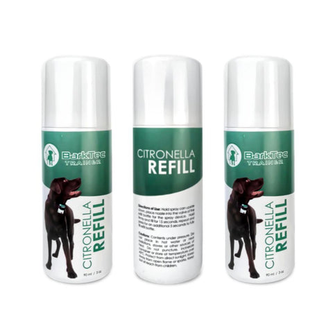 citronella spray collar refills