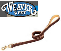 WEAVER PET DEER Ridge™ Leather Dog Leash