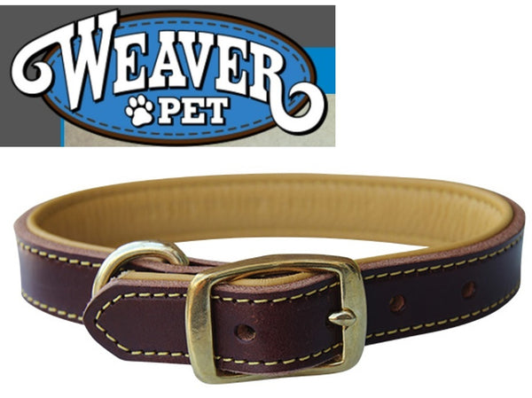WEAVER PET DEER Ridge™ Leather Dog Collar