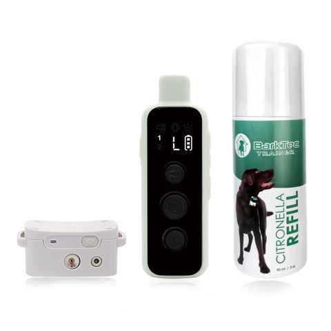 Barktec Citronella Spray Collar with Remote