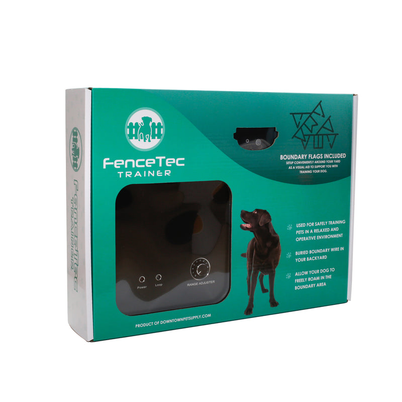 eDog Australia - Dog Training Fence - ADVANCED HIDDEN FENCE DOG TRAINING SYSTEM - RECHARGEABLE - FenceTec Trainer Dog Fence Training Device