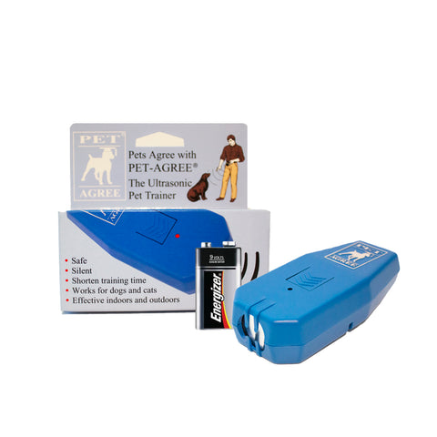 ultrasonic pet trainer device and box